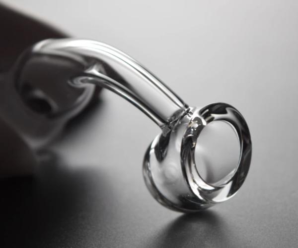 4MM Thick Quartz Banger - Slanted Top