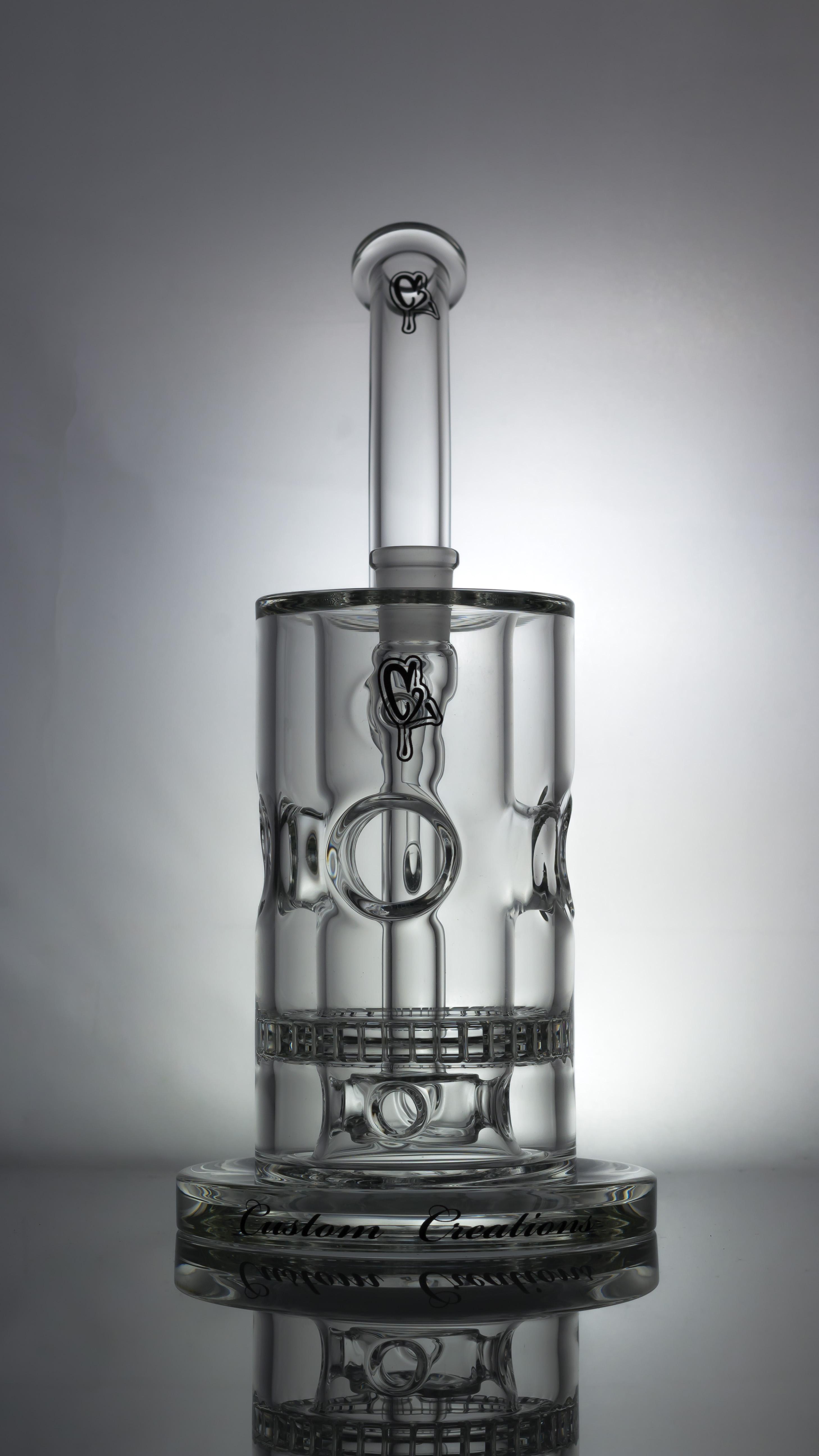 Hrs1 Dabbing Rig C2 Custom Creations Glass Dabfarm Com