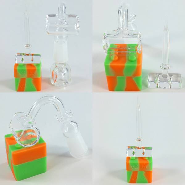 Trough Quartz Banger + Carb Cap Dabber Kit - Fine Quartz Nails