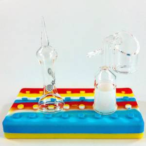 Quartz eNails Banger + Quartz Carb Cap Dabber Kit