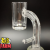 Quartz eNail Banger Side Angle View (20MM Coil)