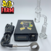 Mini E-nail Kit With A 20MM Coil, Quartz Banger And Directional Carb Cap