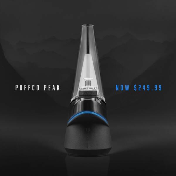Puffco Peak Portable Dab Rig Enail - Now $249