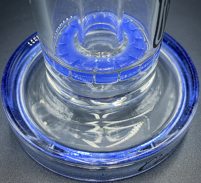 C2 Glass BRB50 - Heady Blue (RATCHET VIEW)