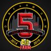 DabFarm.com 5 Year Anniversary Logo