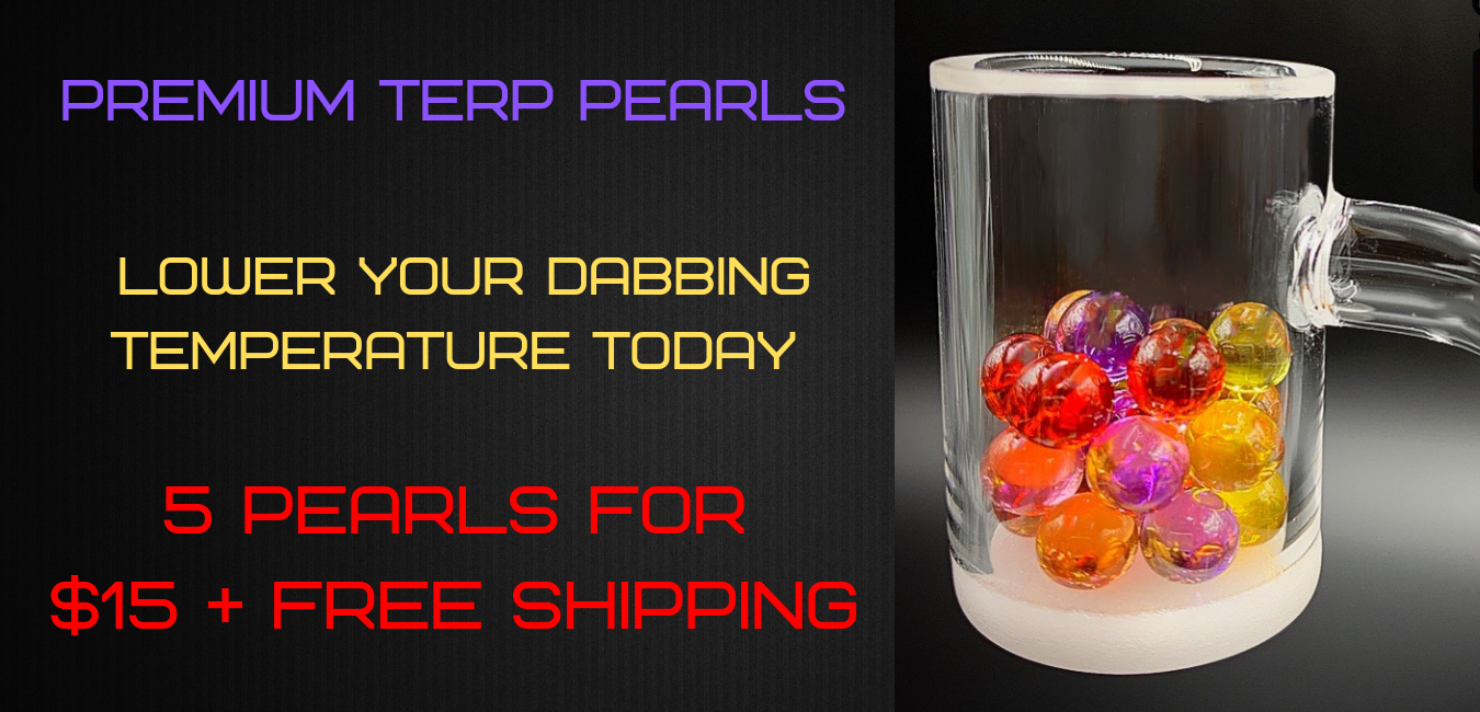 Dab Terp Pearls - Quartz Dab Pearls - All Colors