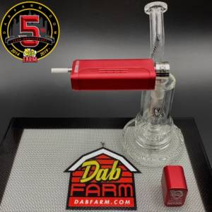 Huni Badger Portable Enail + C2 Custom Creations Glass SP1 Mini Dabbing Rig