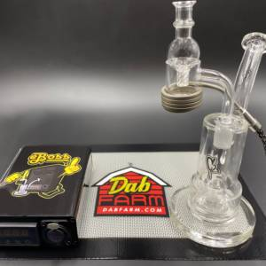 28MM Quartz Enail Kit + Directional Vortex Carb Cap