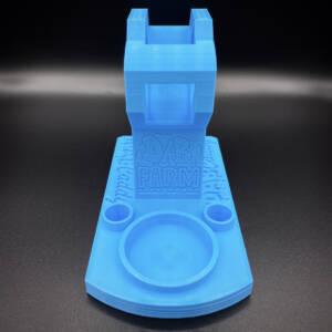 Huni Badger Portable Dab Rig | Enail Stand | Powder Blue