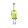 Huni Badger Huni Bottle Lime Green iDab Glass Bubbler