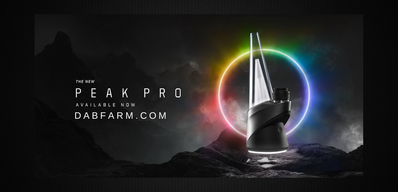 The New Puffco Peak Pro Portable Enail Kit - Available Now At DabFarm.com