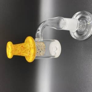 Citrus Heady Vortex UFO Carb Cap | Fits 24:25:28MM Quartz Enail Bangers