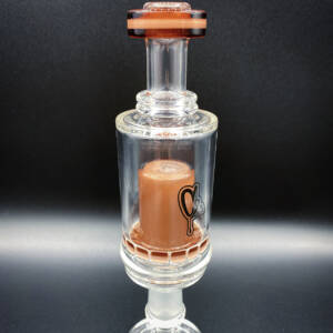 Huni Badger Portable Dab Rig | C2 Glass Mini Rig | Calico Mocha