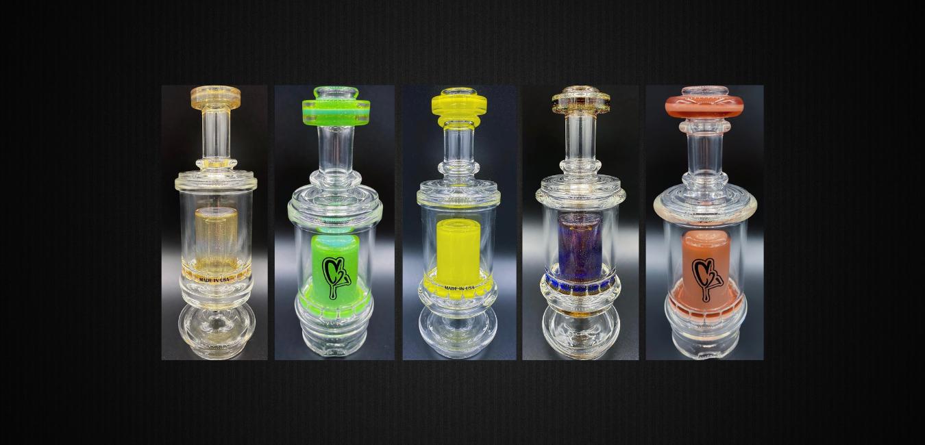 Puffco Peak Pro Attachment C2 Custom Creations Glass DabFarm